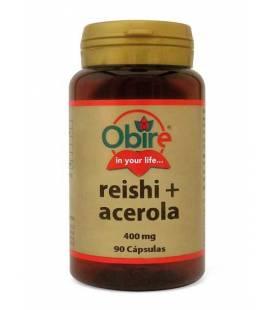 Reishi (micelio) y acerola 90 cápsulas 400mg de Obire