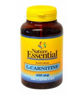 L-CARNITINA 450mg 100 Cápsulas de Nature Essential