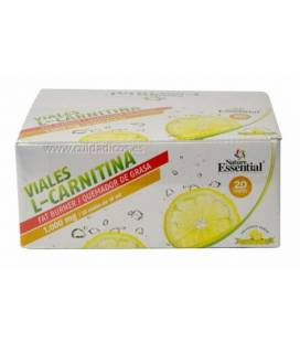 L-CARNITINA 1000mg 20 Viales de Nature Essential
