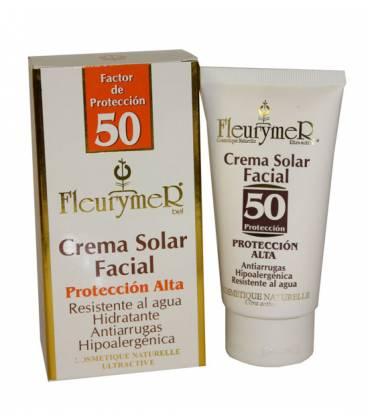 Crema solar facial factor 50 80ml de Fleurymer