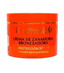 Crema bronceadora a base de zanahoria factor 7 100ml de Fleurymer