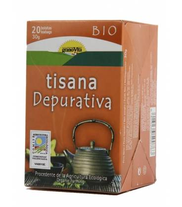 Tisana depurativa BIO infusión de Granovita