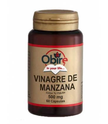 Vinagre de manzana 60 Cápsulas de 500mg de Obire