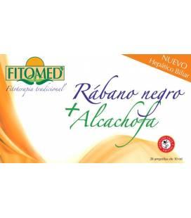 Fitomed rabano negro+alcachofa 20 Ampollas de Dieticlar
