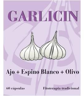 GARLICIN 60 Cápsulas (AJO, OLIVO, ESPINO BLANCO) de Dieticlar