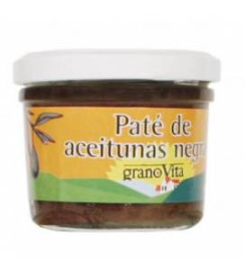 PATE ACEITUNAS NEGRAS 90g de Granovita