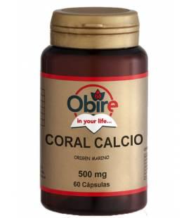 CALCIO CORAL 500mg 60 Cápsulas de Obire