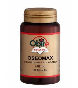 Oseomax (Condroitina y Colágeno) 100 cápsulas de 470mg de Obire