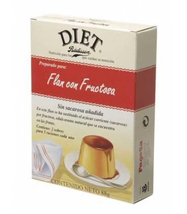 FLAN CON FRUCTOSA 88g de Diet Radisson