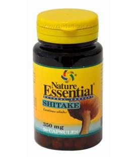 Shitake (micelio) 50 cápsulas 350 mg de Nature Essential