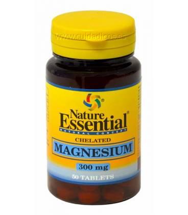 Magnesio quelado 50 Tabletas de 300mg de Nature Essential