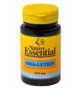 DHA y LUTEINA 50 perlas de 615mg de Nature Essential