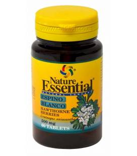 ESPINO BLANCO 500mg 60 Tabletas de Nature Essential