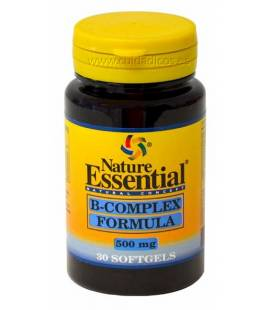 B-COMPLEX 500mg 30 Perlas de Nature Essential