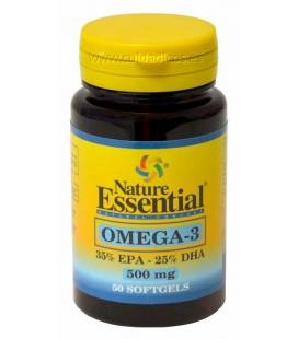 OMEGA-3 500mg (EPA 35% DHA25%) 50 Perlas de Nature Essential