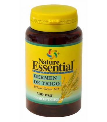 ACEITE DE GERMEN DE TRIGO 500mg 60 Perlas de Nature Essential