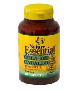 COLA DE CABALLO 500mg 250 Tabletas de Nature Essential