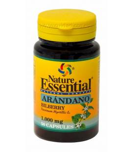 Arándano 50 cápsulas 1000mg de Nature Essential