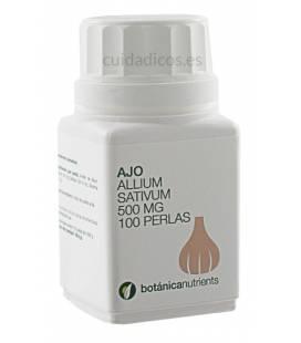AJO 100 Perlas 500mg de Botánica Nutrients