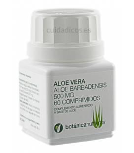 ALOE VERA 60 Comprimidos 500mg de Botánica Nutrients