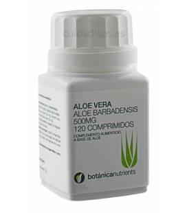 ALOE VERA 120 Comprimidos 500mg de Botánica Nutrients