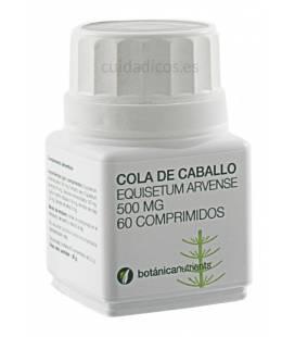 COLA DE CABALLO 60 Comprimidos 500mg de Botánica Nutrients