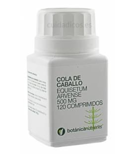 COLA DE CABALLO 120 Comprimidos 500mg de Botánica Nutrients