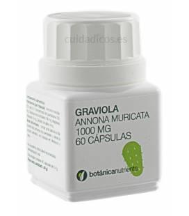 GRAVIOLA 60 Cápsulas 1000mg de Botánica Nutrients