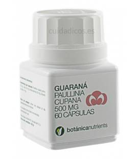 GUARANA 60 Cápsulas 500mg de Botánica Nutrients