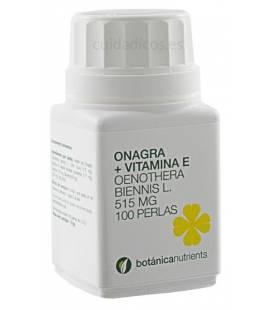 ONAGRA Y VITAMINA E 100 Perlas 515mg de Botánica Nutrients
