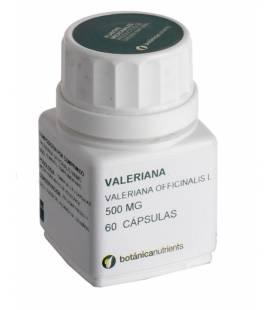 VALERIANA 60 Cápsulas 500mg de Botánica Nutrients