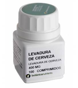 LEVADURA CERVEZA 100 Comprimidos 400mg de Botánica Nutrients