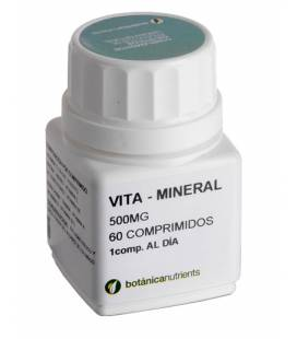 VITA-MINERAL CDR 60 Comprimidos de Botánica Nutrients