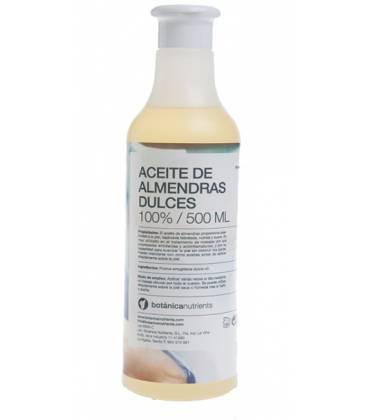 ACEITE DE ALMENDRAS DULCES 500ml con dosificador de Botánica Nutrients