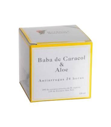 CREMA ANTIARRUGAS BABA DE CARACOL Y ALOE 24H 100ml de Botánica Nutrients
