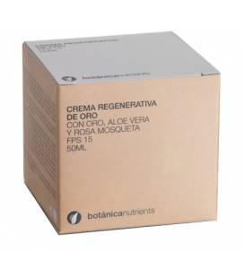 CREMA DE ORO REGENERATIVA FPS15 50ml de Botánica Nutrients