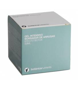 GEL INTENSIVO BORRADOR ARRUGAS EFECTO BOTOX 50ml de Botánica Nutrients