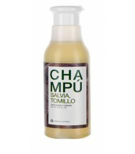 CHAMPU ANTICASPA Y ANTIGRASA (SALVIA Y TOMILLO) 250ml de Botánica Nutrients