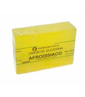 JABON AROMATICO AFRODISIACO 100g CON LIMON, CANELA Y CLAVEL de Botánica Nutrients