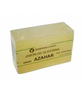JABON AROMATICO DE GLICERINA CON OLOR A AZAHAR 100g de Botánica Nutrients