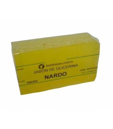 JABON AROMATICO DE GLICERINA CON OLOR A NARDO 100g de Botánica Nutrients