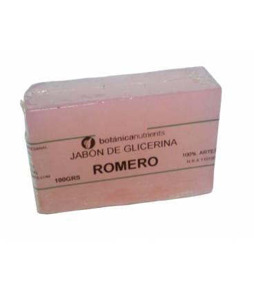 JABON AROMATICO DE GLICERINA CON OLOR A ROMERO 100g de Botánica Nutrients
