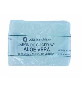 JABON DE TRATAMIENTO CON ALOE VERA Y ESENCIA DE NARANJA 100g de Botánica Nutrients