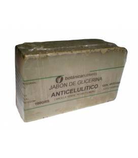 JABON DE TRATAMIENTO ANTICELULITICO CON ARCILLA VERDE, ALGA Y LIMON 100g de Botánica Nutrients