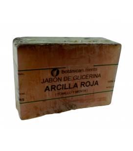 JABON DE TRATAMIENTO ANTISEPTICO CON ARCILLA ROJA, TOMILLO Y MENTA 100g de Botánica Nutrients