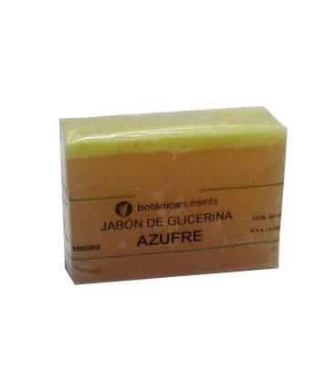 JABON DE TRATAMIENTO AZUFRE 100g de Botánica Nutrients