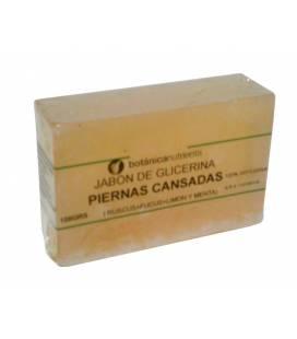 JABON DE TRATAMIENTO PIERNAS CANSADAS 100g RUSCUS, FUCUS, LIMON Y MENTA de Botánica Nutrients