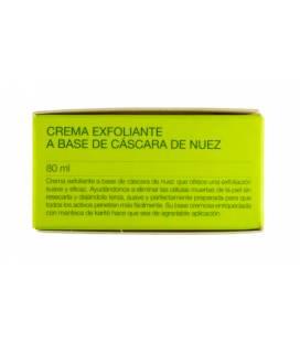 EXFOLIANTE CASCARA DE NUEZ Y KARITE 80ml de Botánica Nutrients