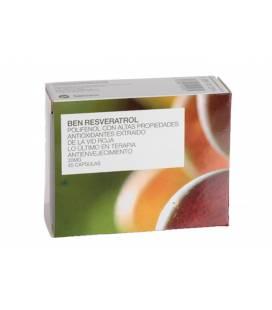 BEN-RESVERATROL 45 Cápsulas 20mg de Botánica Nutrients