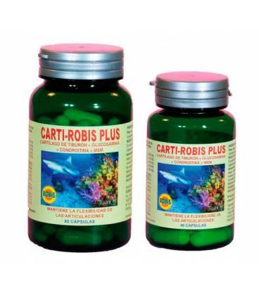 PACK CARTI-ROBIS PLUS 80+40 Cápsulas de Robis